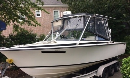 Image of Bertram 26 Moppie SF Convertible for sale in United States of America for $29,000 (£22,395) Charleston, South Carolina, United States of America