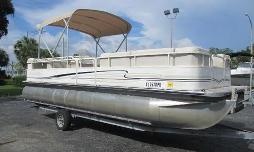 Image of Bentley Pontoons 240 for sale in United States of America for $14,990 (£11,358) Palmetto, FL, United States of America