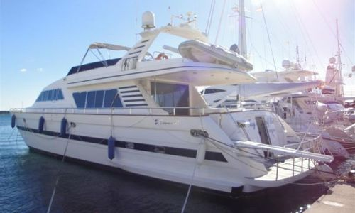 Image of Elegance Yachts 82 for sale in Spain for €675,000 (£597,943) Spain
