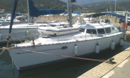 Image of Jeanneau Sun Odyssey 40 DS for sale in Greece for €84,950 (£74,239) LEFKAS, Greece
