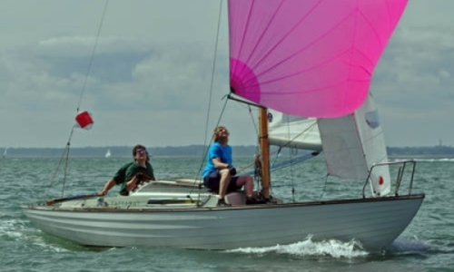Image of Folkboat 25 for sale in United Kingdom for £9,950 LYMINGTON, United Kingdom