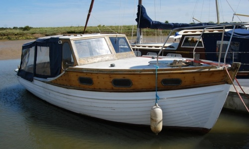 Image of Luke Gaff 25ft Motor Launch for sale in United Kingdom for £2,500 Tollesbury Marina, Essex, United Kingdom