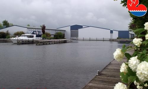 Image of Boothuis Schiphuis Met Garage Ossenzijl 16 X 6 Meter Contessa Marina for sale in Netherlands for €89,500 (£80,327) Ossenzijl, Netherlands