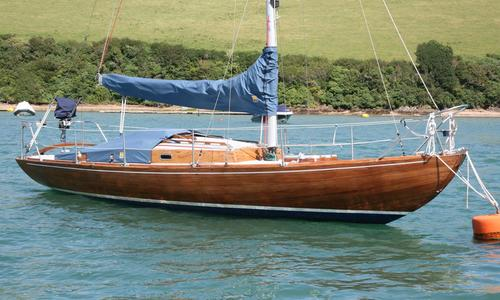 Image of Traditional Folkboat Bm Sloop for sale in United Kingdom for £7,000 Totnes, Devon, , United Kingdom
