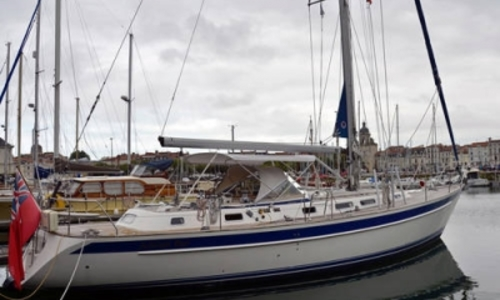 Image of Hallberg-Rassy 46 for sale in France for £275,000 LA ROCHELLE, France