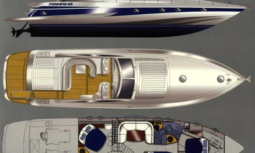 Image of Pershing 65 for sale in Greece for €450,000 (£401,449) Attica, Athens, Greece