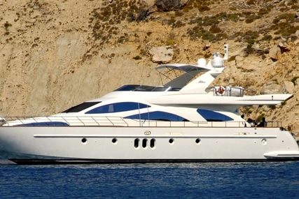 Azimut 80 for sale in Greece for €1,050,000 (£941,029)