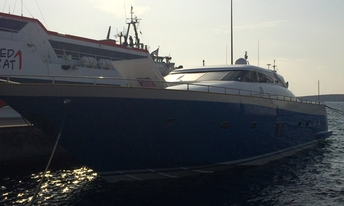 Image of Tecnomar 26 Madras for sale in Greece for €1,000,000 (£892,658) Attica, Athens, Greece