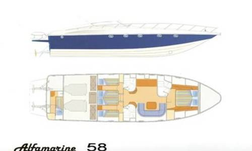 Image of Alfamarine 58 for sale in Greece for €450,000 (£402,148) Attica, Athens, Greece