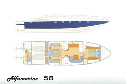 Alfamarine 58 for sale in Greece for €450,000 (£395,726)