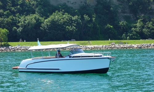 Image of Alfastreet 23 Cabin Sport with Mercruiser 220 HP AVAILABLE NOW for sale in Slovenia for €57,035 (£50,686) Sezana, Slovenia