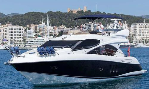 Image of SUNSEEKER Manhattan 52 for sale in Spain for €430,000 (£384,275) Mallorca, Spain