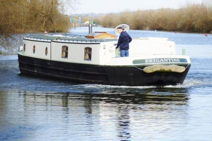 """Brigantine 60 x 12'06"""" Chined Hull Barge for sale in United Kingdom for £135,000"""