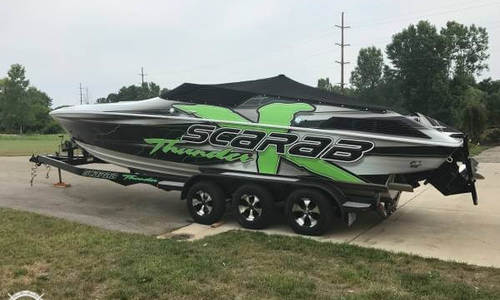 Image of Wellcraft Scarab Thunder 31 for sale in United States of America for $35,400 (£26,411) Belding, Michigan, United States of America