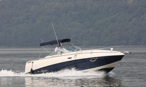 Image of Rinker Fiesta Vee 250 for sale in United States of America for $19,900 (£14,236) Englewood Cliffs, New Jersey, United States of America