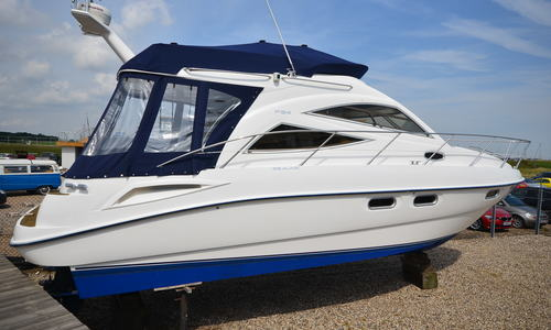 Image of Sealine F34 for sale in United Kingdom for £99,950 Boats.co. HQ, Essex Marina, United Kingdom