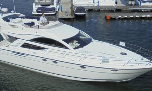 Image of Fairline Phantom 50 for sale in United Kingdom for £255,500 Hamble River Boat Yard, United Kingdom