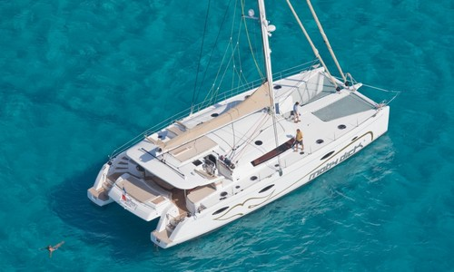 Image of Fountaine Pajot Galathea 65 for sale in France for €950,000 (£855,987) Corsica, France