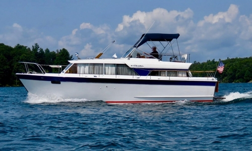 Image of Chris-Craft Cavalier 36 Motor Yacht for sale in United States of America for $23,900 (£18,320) Clayton, New York, United States of America