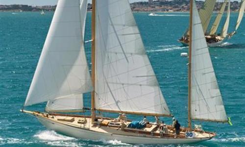 Image of John Alden Yawl for sale in Spain for €480,000 (£431,081) Spain