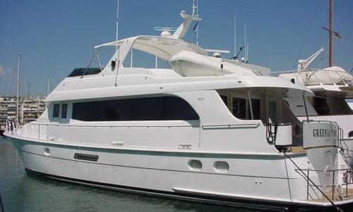 Image of Hatteras 75 Sport Deck for sale in Greece for €620,000 (£554,071) Greece