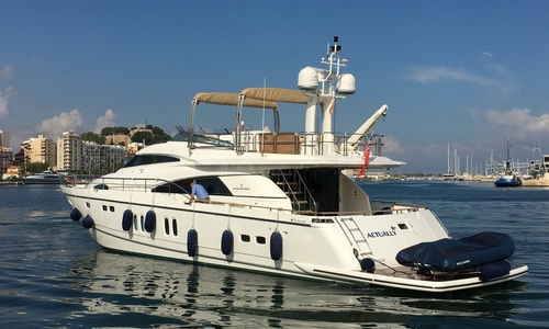 Image of Fairline Squadron 78 for sale in Spain for £995,000 Denia, Spain