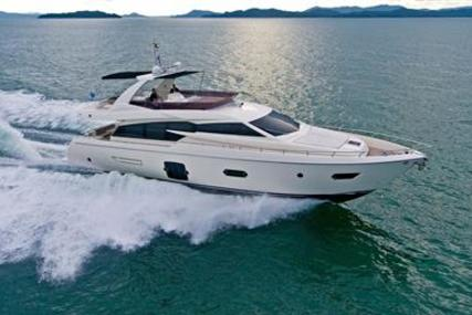 Ferretti 720 for sale in Thailand for €1,695,000 (£1,489,652)