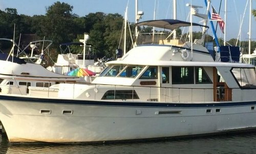 Image of Hatteras 53 Classic for sale in United States of America for $99,995 (£74,816) Baltimore, Maryland, United States of America