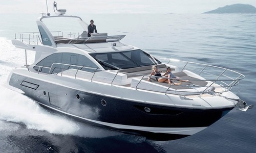 Image of Azimut Yachts 50 Flybridge for sale in United Kingdom for £713,000 Hamble River Boat Yard, United Kingdom