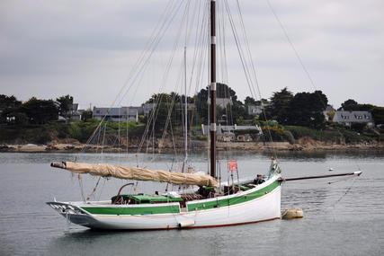 Traditional Breton Gaff Cutter for sale in France for €170,000 (£150,796)