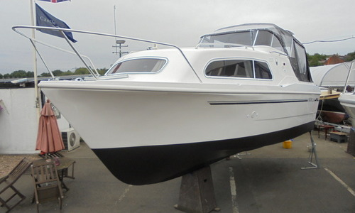 Image of Viking Yachts 24 HiLine Wide Beam for sale in United Kingdom for £44,000 East Midlands, Nottingham, United Kingdom