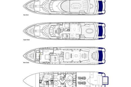 SUNSEEKER 37 Metre Yacht for sale in Monaco for £6,775,000