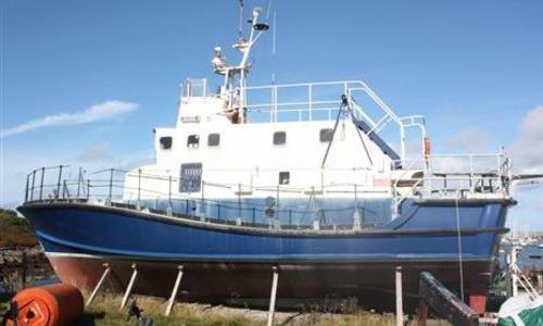 Image of Halmatic Arun class lifeboat for sale in United Kingdom for £45,000 HolyHead Marina, United Kingdom