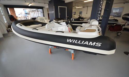 Image of Williams TurboJet 325 Sport 100HP for sale in United Kingdom for £26,950 Boats.co. HQ, Essex Marina, United Kingdom