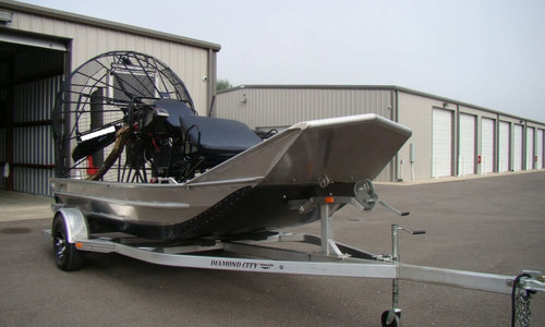 Image of Custom 14 Airboat for sale in United States of America for $54,500 (£40,905) Youngsville, Louisiana, United States of America