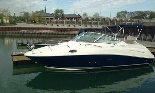 Image of Sea Ray 240 Sundancer for sale in United States of America for $27,500 (£20,859) Chicago, Illinois, United States of America