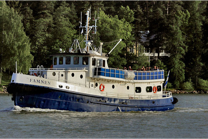 Steel Passenger vessel for sale in Finland for €380,000 (£338,385)