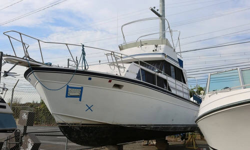 Image of Marinette 32 Fly Bridge Sedan Cruiser for sale in United States of America for $8,500 (£6,554) Stratford, Connecticut, United States of America