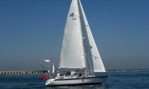 Image of Hallberg-Rassy 39 for sale in United Kingdom for £149,950 Lymington, United Kingdom