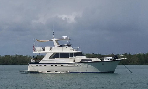 Image of Hatteras 53 MY for sale in United States of America for $99,000 (£76,767) Key Biscayne, Florida, United States of America