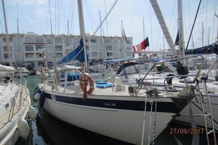 Hallberg-Rassy 42E for sale in Spain for €125,000 (£109,496)