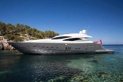 Pershing 90' for sale in Spain for €2,295,000 (£2,040,453)