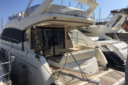 Prestige 450 for sale in France for €420,000 (£365,538)