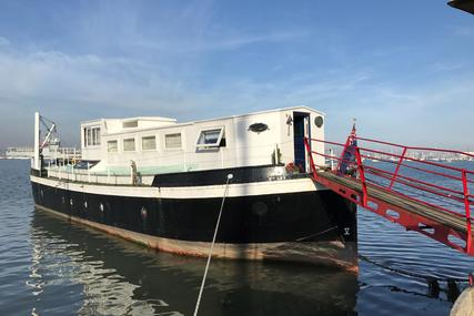 Houseboat Ex MoD Admiralty Ammunition Barge for sale in United Kingdom for £186,000