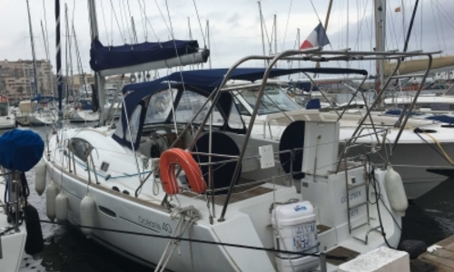 Image of Beneteau Oceanis 40 for sale in France for €98,000 (£86,222) SAINT CYPRIEN, France