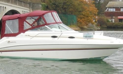 Image of Sea Ray 240 Sundancer for sale in United Kingdom for £14,450 Hamble River Boat Yard, United Kingdom