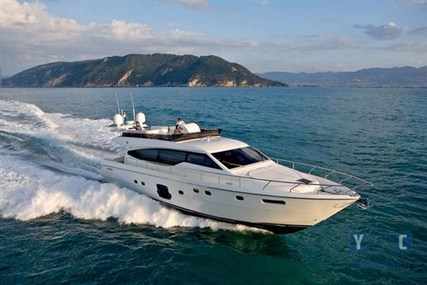 Ferretti 631 for sale in Turkey for €975,000 (£858,260)