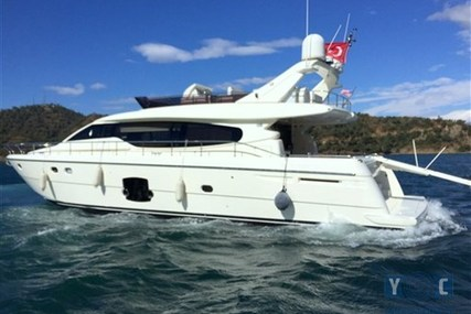 Ferretti 630 for sale in Turkey for €750,000 (£660,200)