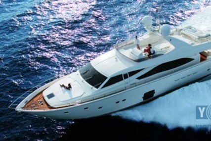 Ferretti 830 for sale in Turkey for €1,749,000 (£1,530,385)