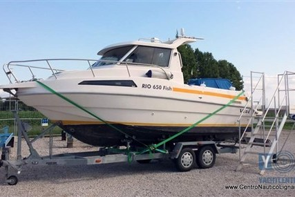 Rio 650 Fish for sale in Italy for €17,900 (£15,805)